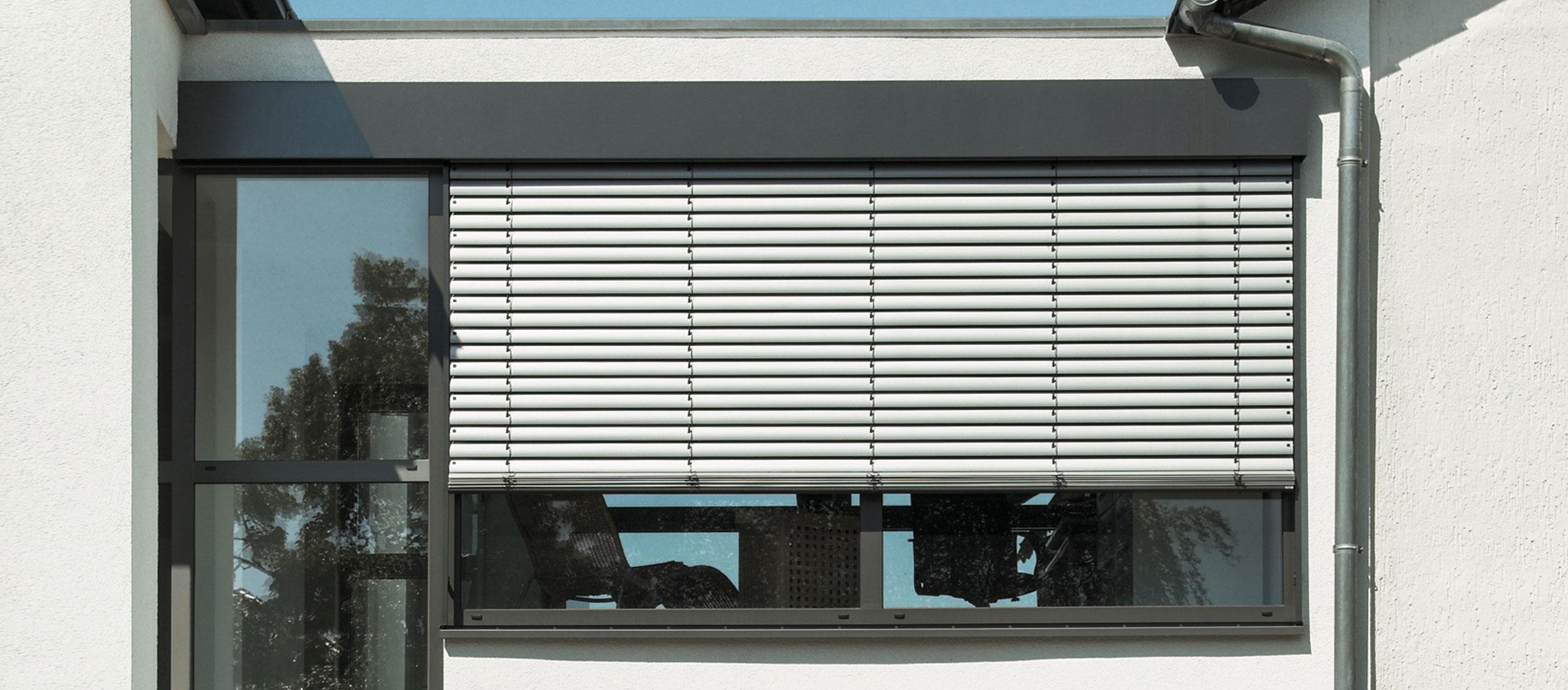 Sichtschutz |Raffstore Banner