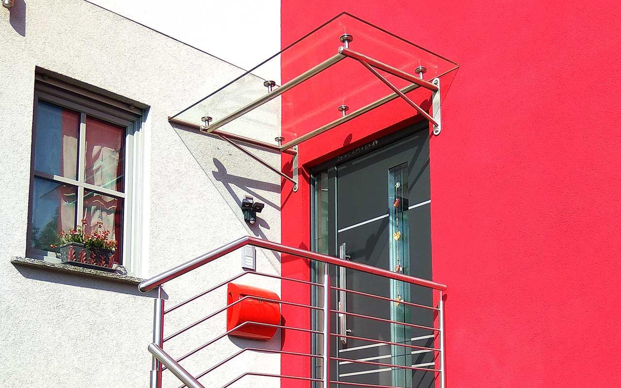 Hümmler Fensterdesign Nidderau | Vordächer Bajo